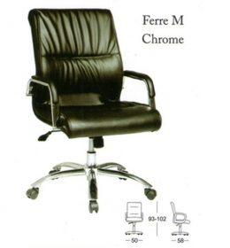 Jual Kursi kantor Subaru Ferre M Chrome Murah Surabaya