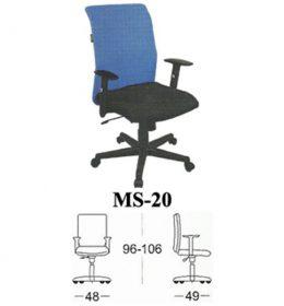 Jual Kursi kantor Subaru MS 20 Murah Surabaya