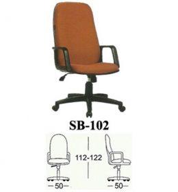 Jual Kursi kantor Subaru SB 102 Murah Surabaya