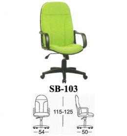 Jual Kursi kantor Subaru SB 103 Murah Surabaya