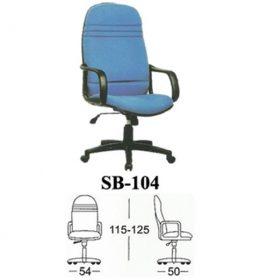 Jual Kursi kantor Subaru SB 104 Murah Surabaya