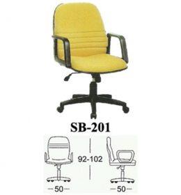 Jual Kursi kantor Subaru SB 201 Murah Surabaya