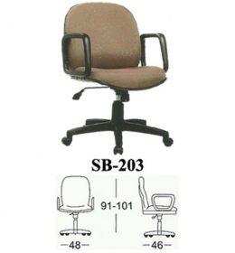 Jual Kursi kantor Subaru SB 203 Murah Surabaya