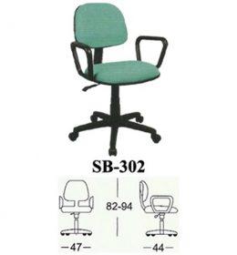 Jual Kursi kantor Subaru SB 302 Murah Surabaya