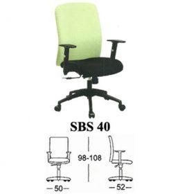 Jual Kursi kantor Subaru SBS 40 Murah Surabaya