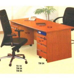 Jual Meja Kantor tanpa laci Aditech TD 18 Murah Di Surabaya